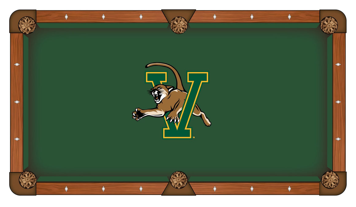 University of Vermont 8' Pool Table with Bonus Cue Rack - Man Cave Boutique