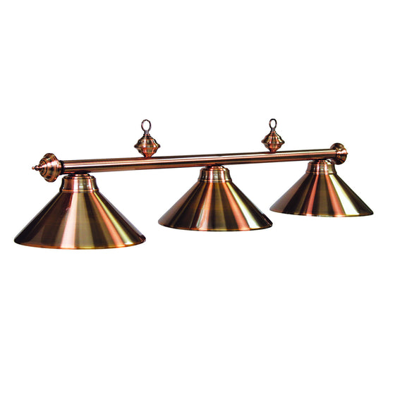 Value Priced 3 Light Copper Finish Light Fixture - Man Cave Boutique