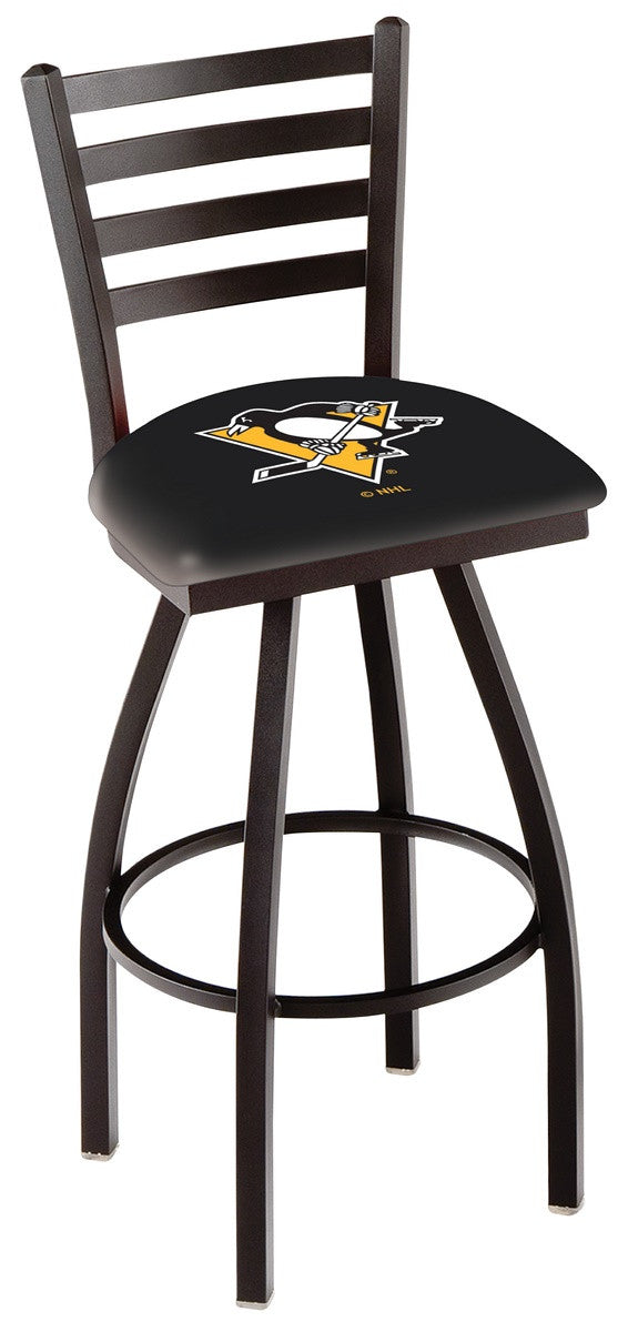 Pittsburgh Penguins NHL Logo Swivel Bar Stool - Man Cave Boutique