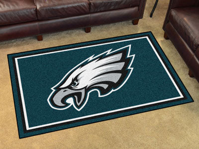 Rug 4x6 Philadelphia Eagles NFL - Man Cave Boutique