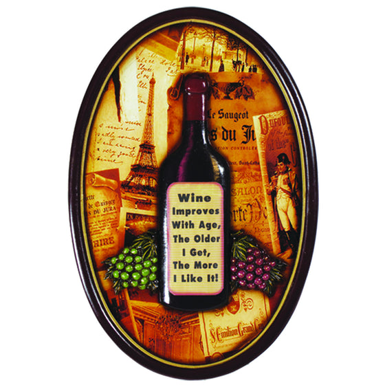 WINE IMPROVES WITH AGE - Man Cave Boutique