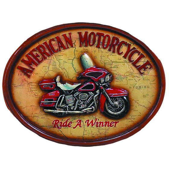 Pub Sign - Ride A Winner Wall Decor - Man Cave Boutique