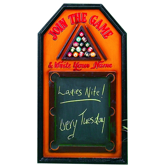 Pub Sign - Join The Game Wall Decor - Man Cave Boutique