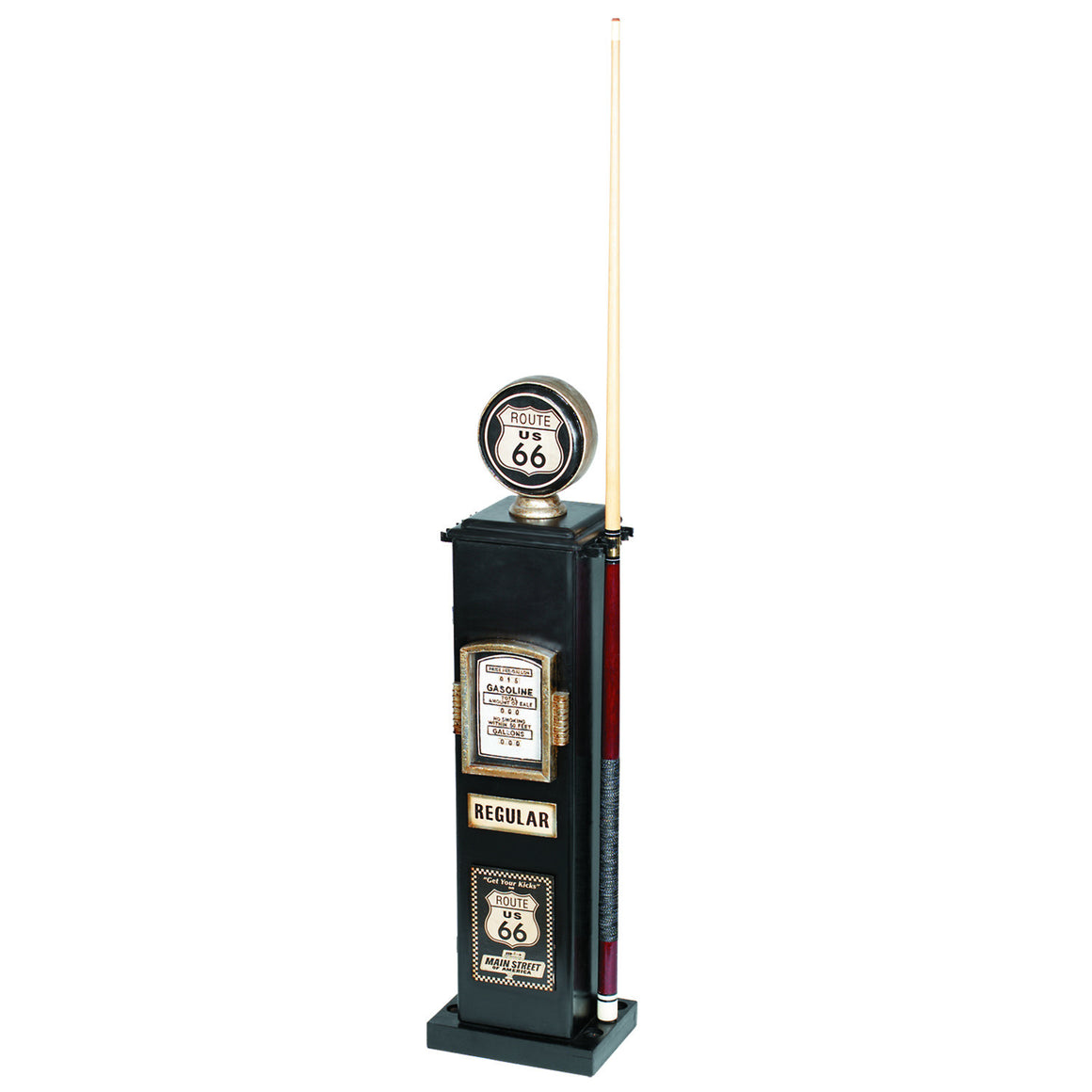 Gas Pump Cue & CD Holder – Route 66 - Man Cave Boutique