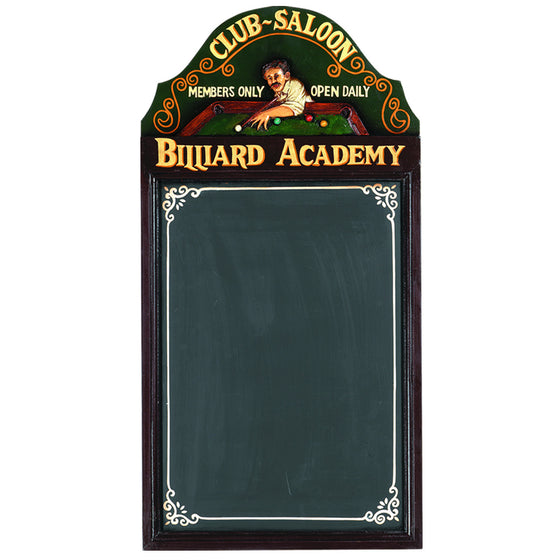 Pub Sign - Billiard Academy Wall Decor - Man Cave Boutique