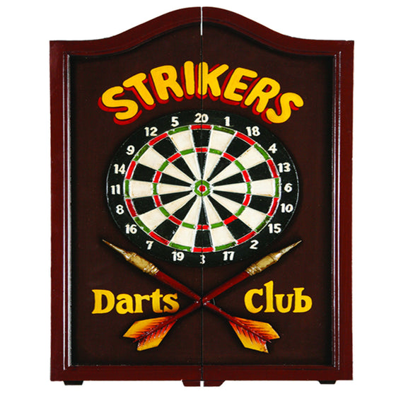 Strikers Dart Cabinet - Man Cave Boutique
