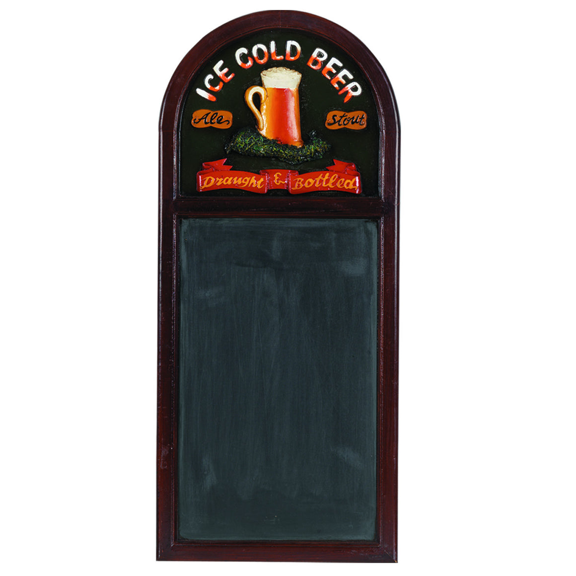 Pub Sign - Ice Cold Beer Chalkboard Wall Decor - Man Cave Boutique