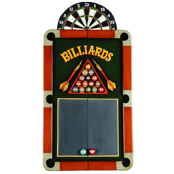 BILLIARDS & DART CABINET - Man Cave Boutique