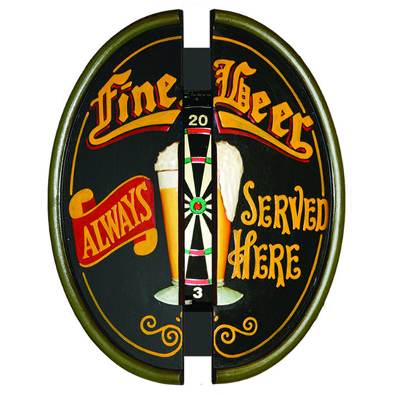 FINE BEER DART CABINET - Man Cave Boutique