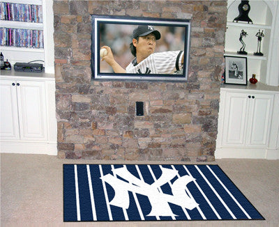 RUG 4x6 New York Yankees MLB - Man Cave Boutique