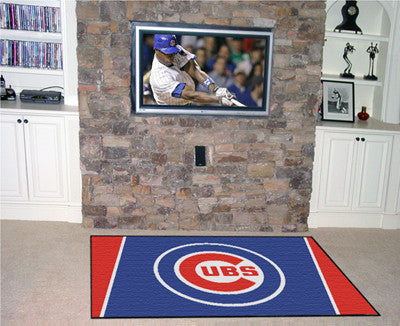 RUG 5x8 Chicago Cubs MLB - Man Cave Boutique