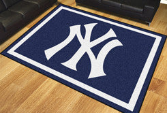 Rug 8x10 New York Yankees MLB - Man Cave Boutique