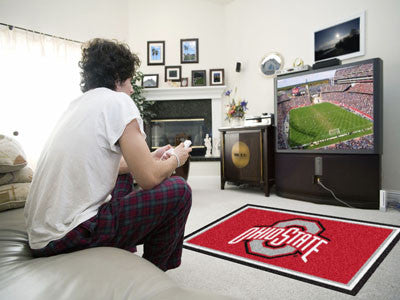 Rug 4x6 Ohio State University - Man Cave Boutique
