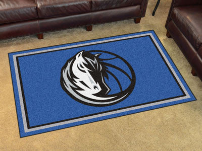 Rug 4x6 Dallas Mavericks NBA - Man Cave Boutique