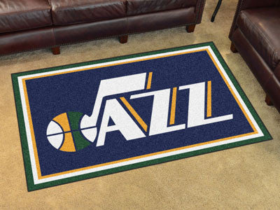 Rug 4x6 Utah Jazz NBA - Man Cave Boutique