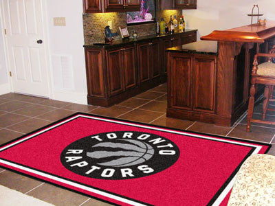 Rug 5x8 Toronto Raptors NBA - Man Cave Boutique