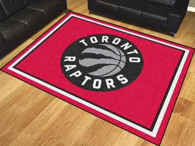 Rug 8x10 Toronto Raptors NBA - Man Cave Boutique