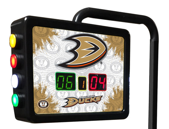 Anaheim Ducks NHL Electronic Shuffleboard Table Scoring Unit - Man Cave Boutique