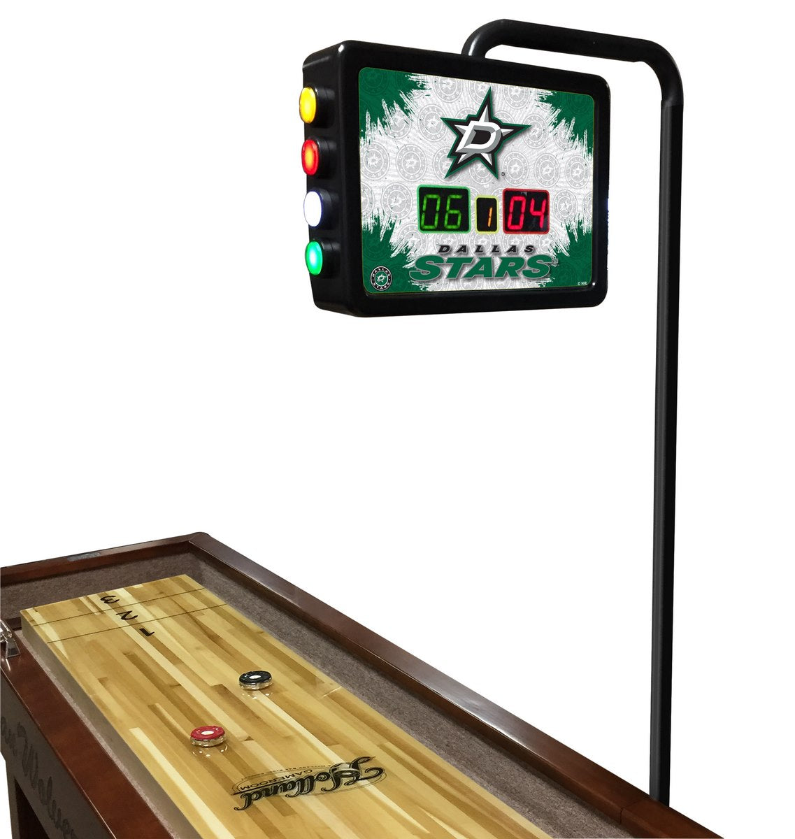 Dallas Stars NHL Electronic Shuffleboard Scoring Unit - Man Cave Boutique