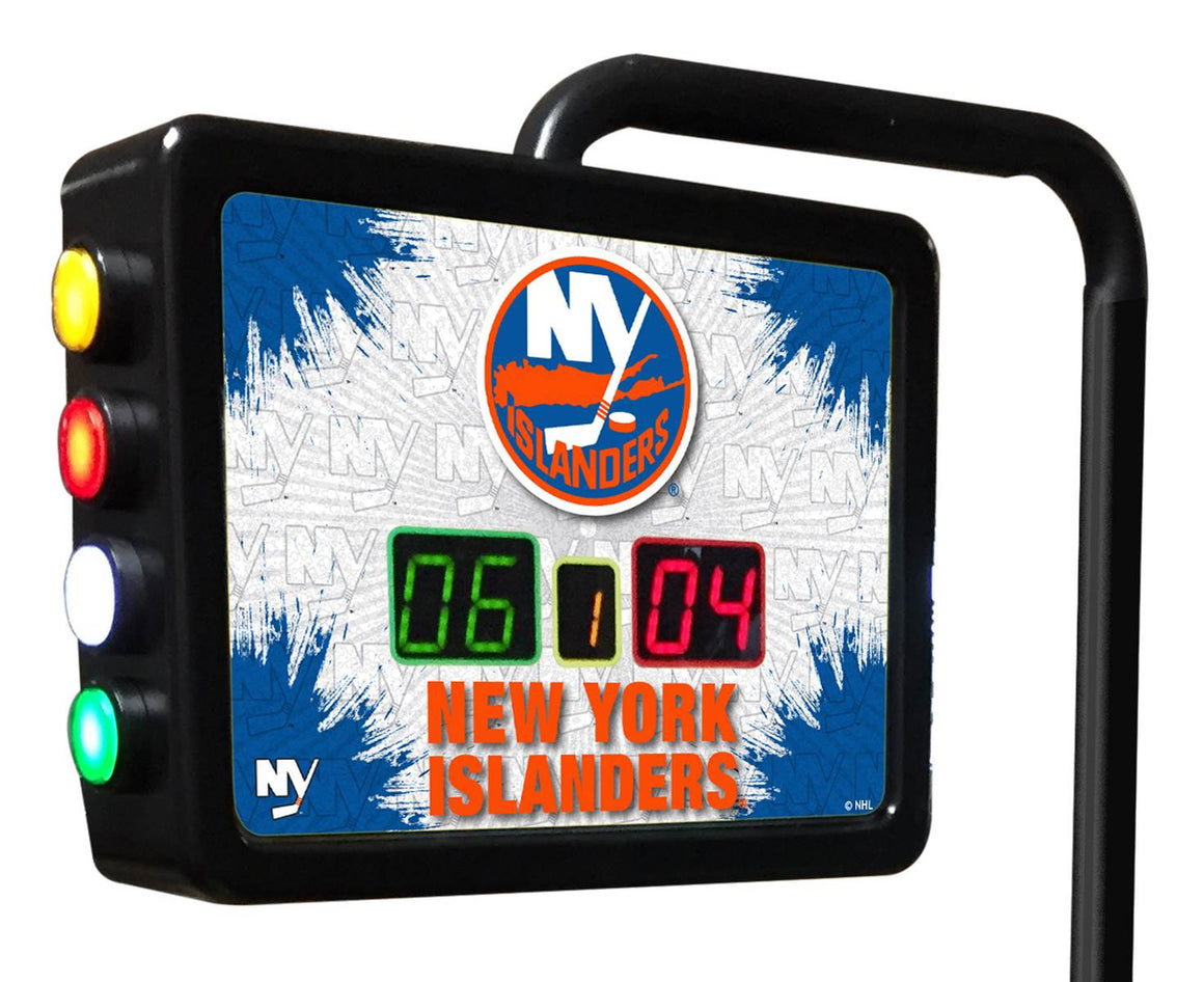New York Islanders NHL Electronic Shuffleboard Scoring Unit - Man Cave Boutique