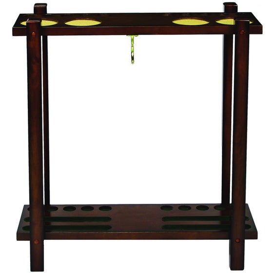 Straight Floor Cue Rack - Man Cave Boutique