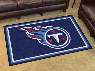 Rug 4x6 Tennessee Titans NFL - Man Cave Boutique