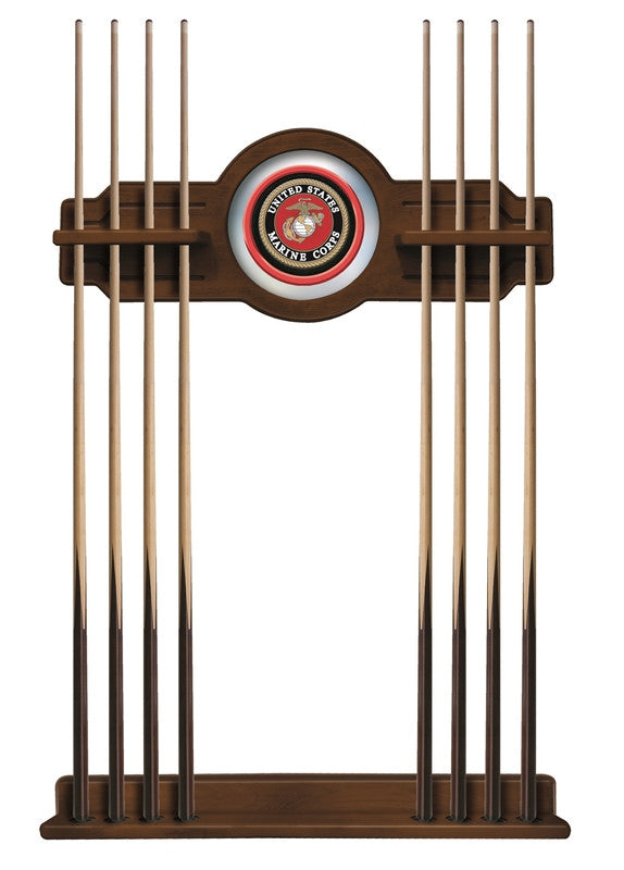 U.S. Marines Corp Logo Pool Cue Rack - Man Cave Boutique