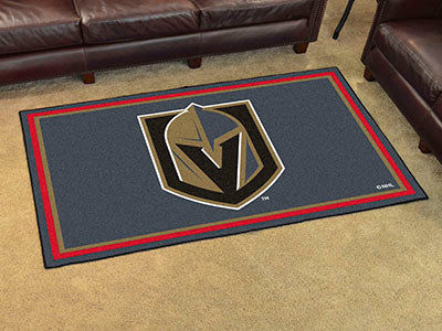 Rug 4x6 Vegas Golden Knights NHL - Man Cave Boutique