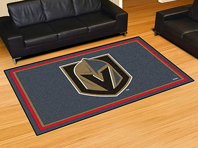 Rug 5x8 Vegas Golden Knights NHL - Man Cave Boutique