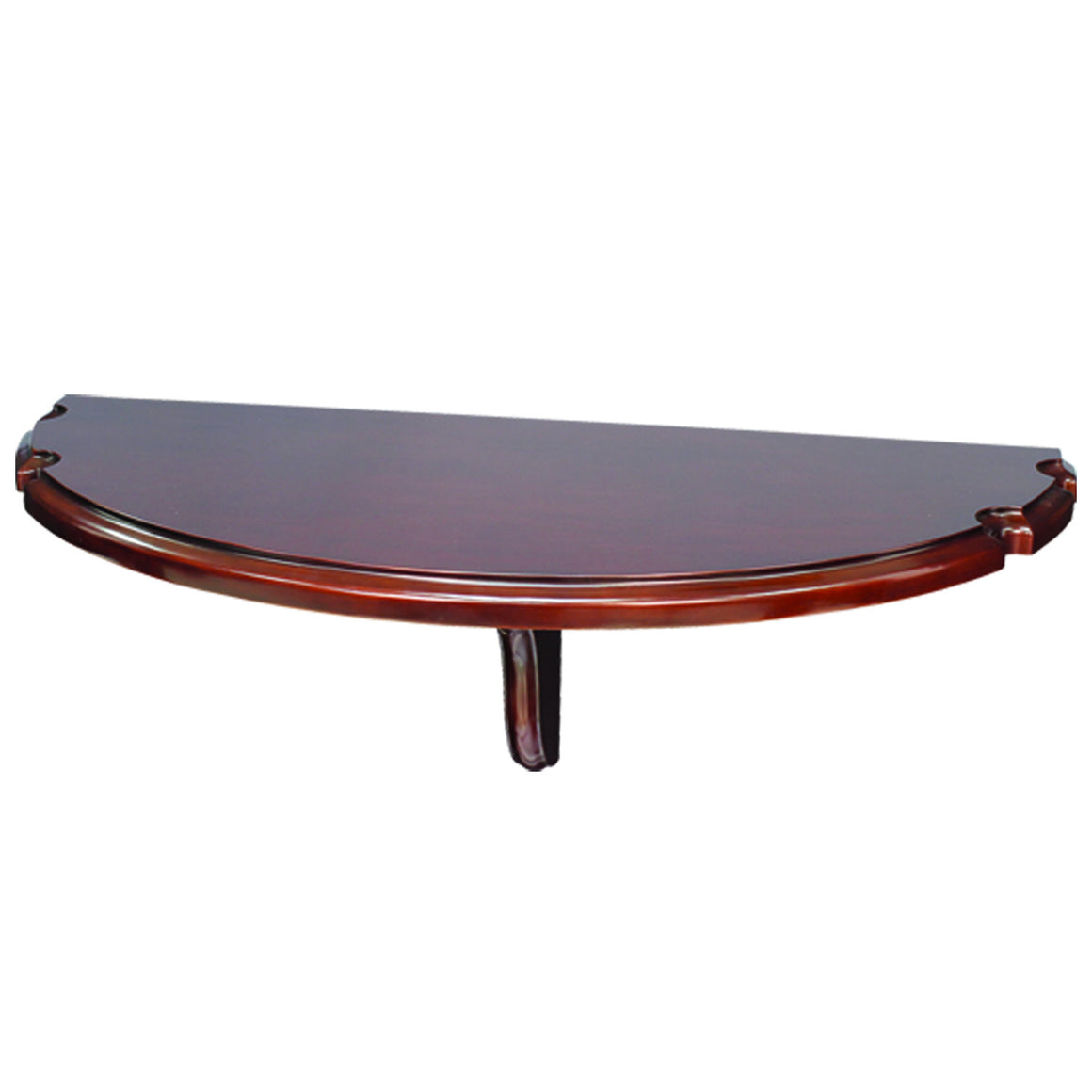 Wall Pub Table w/ Cue Rests_RAM Game Room - Man Cave Boutique