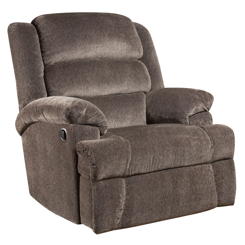 Big & Tall 350 LB. Capacity Charcoal Microfiber Recliner - Man Cave Boutique