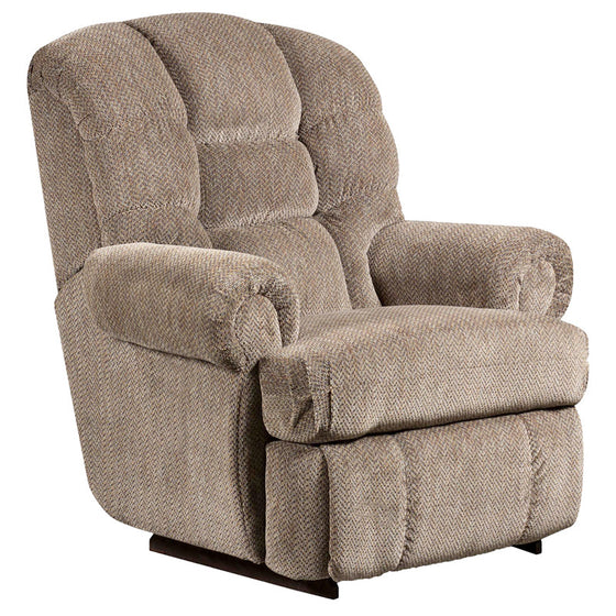 Big & Tall 350 LB. Capacity Pewter Microfiber Recliner - Man Cave Boutique