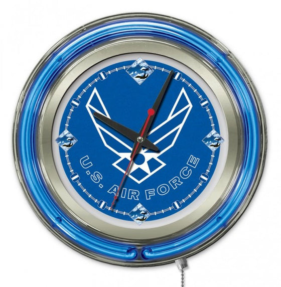 "15"" US Air Force Logo Clock - Man Cave Boutique"