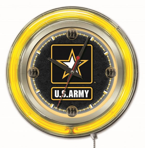 "15"" US Army Logo Clock - Man Cave Boutique"