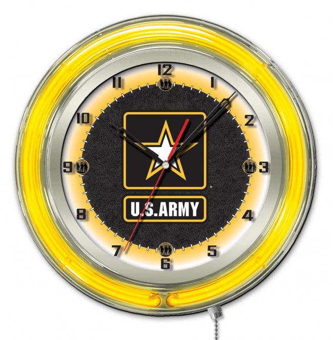 "19"" US Army Logo Clock - Man Cave Boutique"