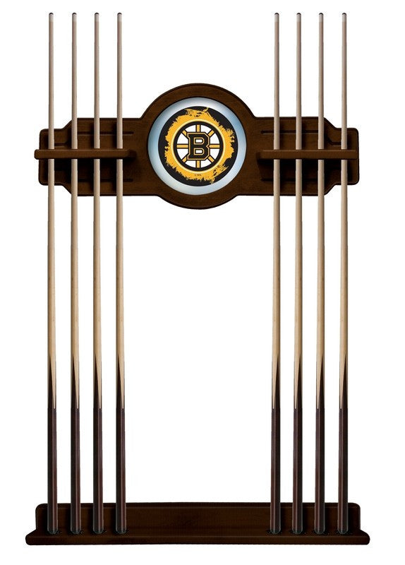 Boston Bruins NHL Logo Pool Cue Rack - Man Cave Boutique