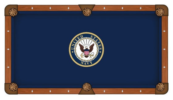 US Navy Pool Table Cloth - Man Cave Boutique