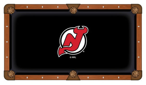 New Jersey Devils ® Pool Table Cloth - Man Cave Boutique