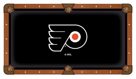 Philadelphia Flyers ® NHL Logo Pool Table Cloth - Man Cave Boutique
