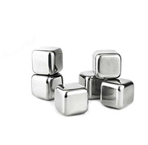 Visol Arctic 6 pc Stainless Steel Ice Cube Set - Man Cave Boutique