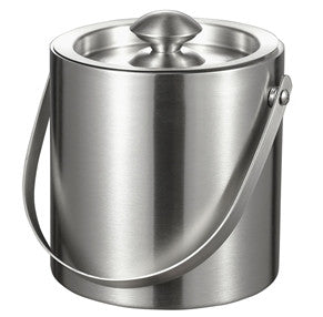 Visol Francois Stainless Steel Double Wall Ice Bucket (3L Capacity) - Man Cave Boutique