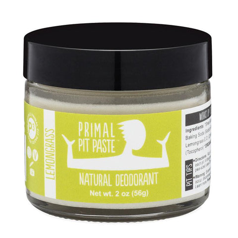 Lemongrass Natural Deodorant Jar