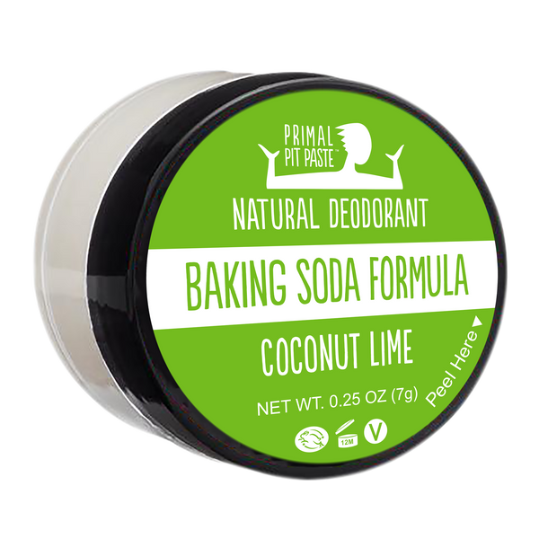 Baking Soda Coconut Lime Natural Deodorant Mini
