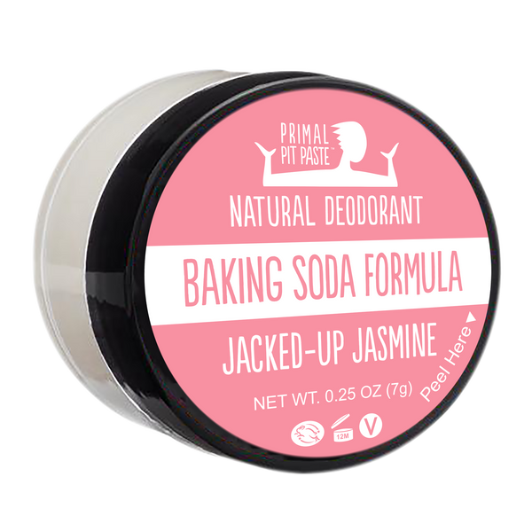 Baking Soda Jacked-Up Jasmine Natural Deodorant Mini
