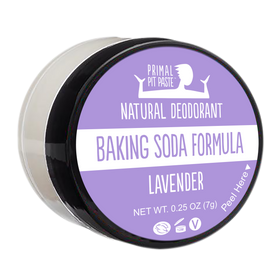 Baking Soda Lavender Natural Deodorant Mini
