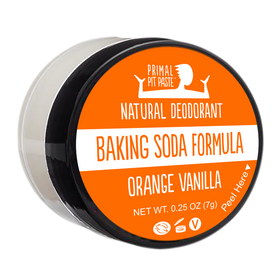 Baking Soda Orange Vanilla Natural Deodorant Mini