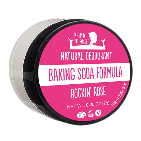 Baking Soda Rockin' Rose Natural Deodorant Mini