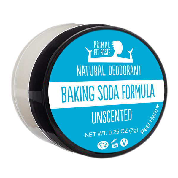 Baking Soda Unscented Natural Deodorant Mini