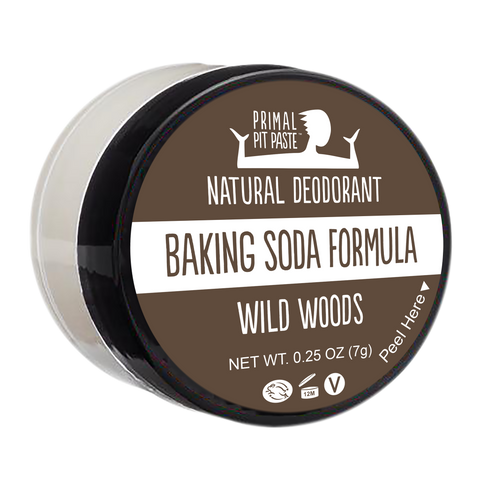 Baking Soda Wild Woods Natural Deodorant Mini