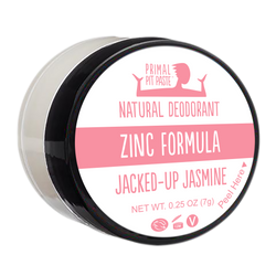 Zinc Jacked-Up Jasmine Natural Deodorant Mini